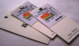 cloth tags card