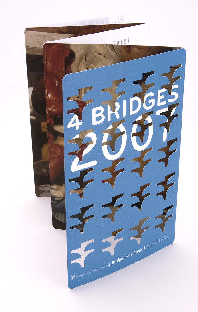 4 Bridges Art Festival Patron Brochure 2007