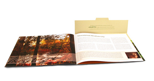 The Nature Conservancy of Canada Presentation Folder Brochure Design
