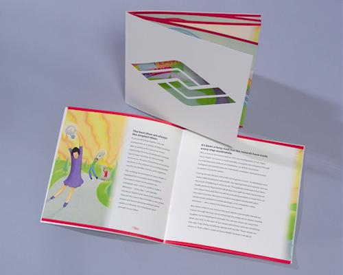 Sierra Health Brochure - Die-cut Booklet flickr