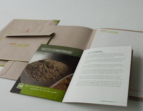 Ozinga Green Building business materials