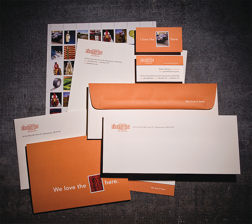 Albuquerque The Magazine Letterhead PKG