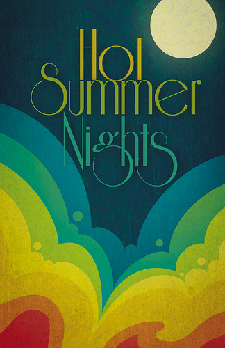 Hot Summer Nights Flyer