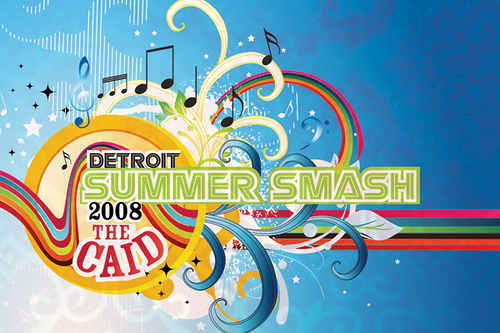 Detroit Summer Smash Flyer