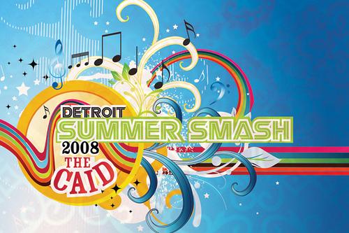 Detroit Summer Smash Flyer