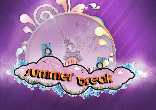 Summer Break Flyer