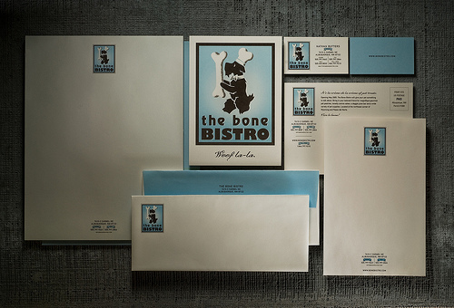 Bone Bistro Letterhead package