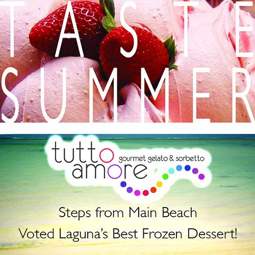 tutto summer flyer