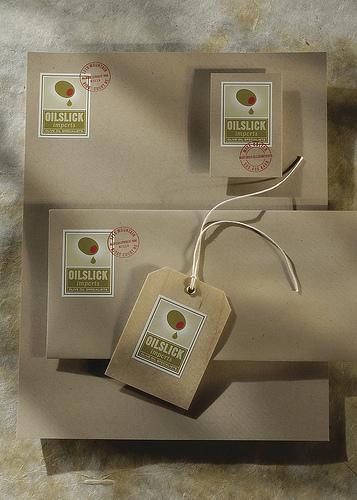 OilSlick Letterhead Package