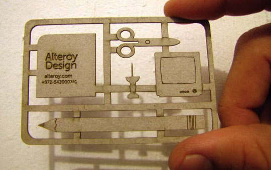9 Excellent Examples of Die-Cut Business Cards | PrintPlace