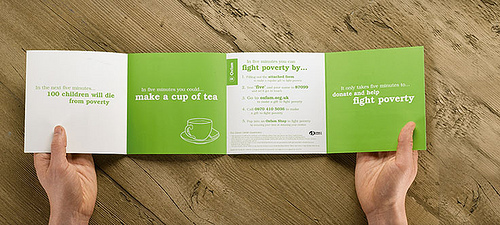 Brochure - Cup of coffee