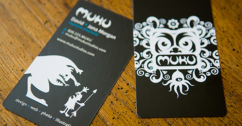 Muku Studios Business Card