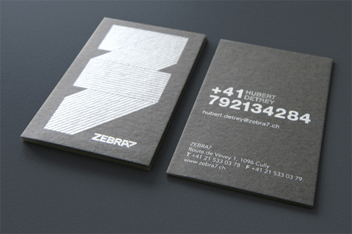 Zebra 7 Business Card