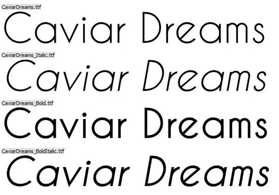 20 Free Fonts for Fabulous Business Cards - Caviar Dreams