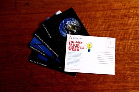 Science Museum Postcard by Michael Schepis