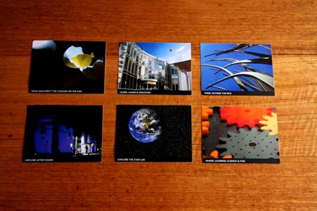 Science Museum Postcards Cover by Michael Schepis