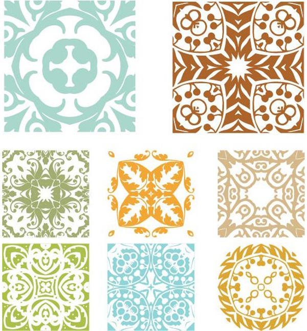 Floral Pattern Vector Graphics