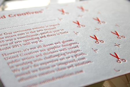 White/Red/White Triplex Postcard by blush