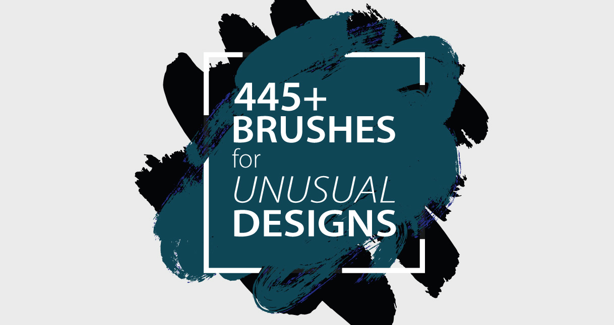455+ Random Brushes for Unusual Design Needs - Header