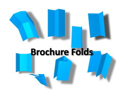How to fold a brochure
