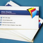 Business cards, business cards, everywhere