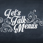 Menu printing design tips