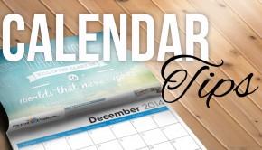 Calendar Printing Tips
