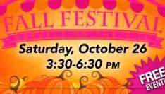 Fall Festival Mini Postcard