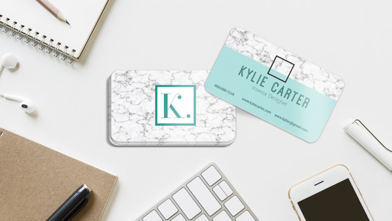 Start your business card project with these Die-Cut Business Card Design Tips