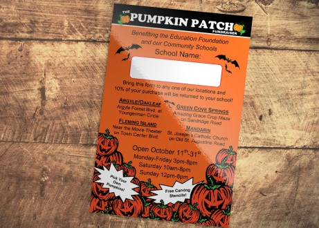 Pumpkin Patch Halloween Flyer