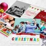 Print custom holiday cards for less