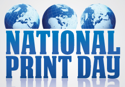 National Print Day: Printing Company