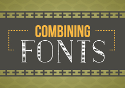 Combining fonts - Graphic Design Friday