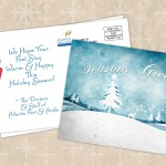 Your customers will read this holiday sale postcard