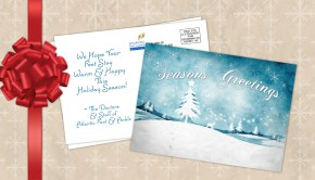 Holiday Sales Postcard