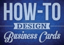 How to design business cards