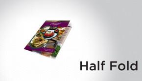 Half-Fold Menu