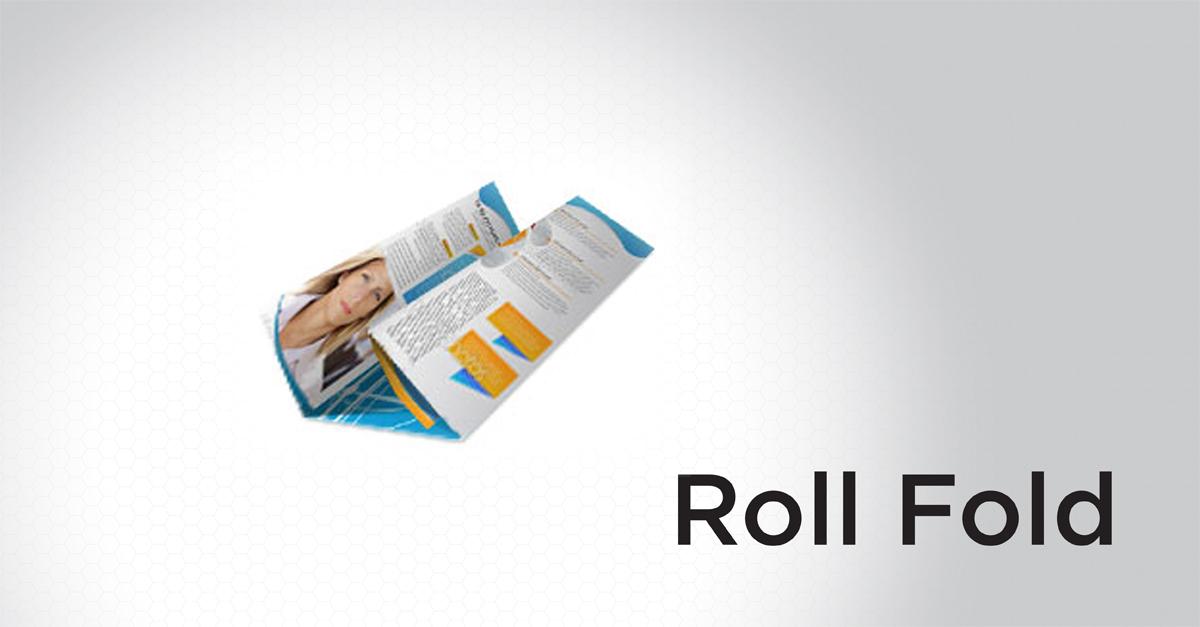 Roll Fold Brochure