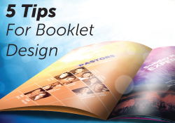 booklet printing design tips