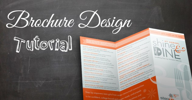 Brochure Design Tutorial