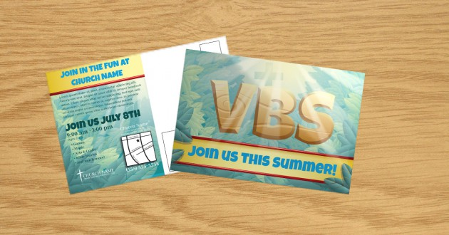 VBS Postcard Template
