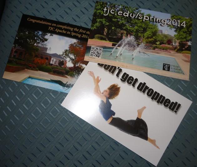Tyler Junior College Admissions Postcards