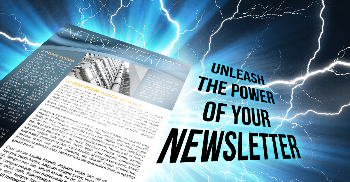 Newsletters have Power