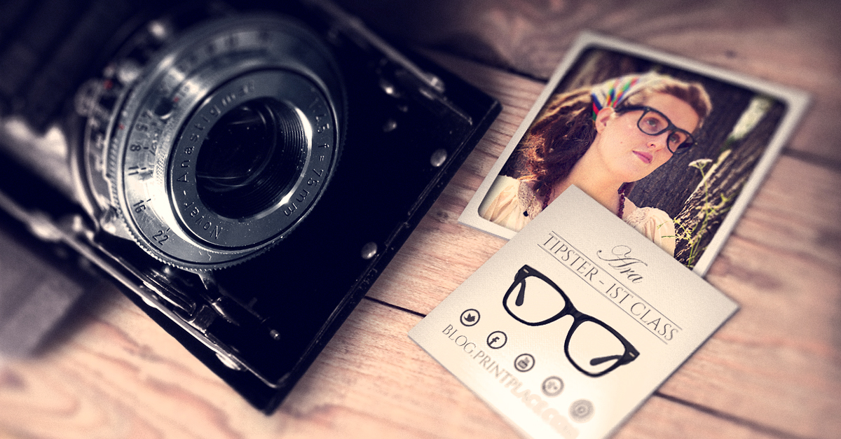 Polaroid Business Cards