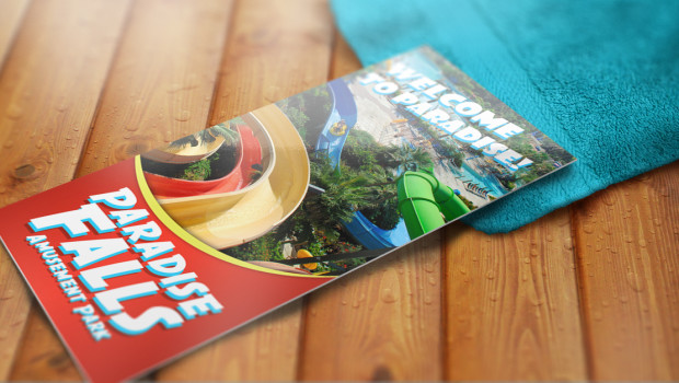 Water-Park-Rack-Card-on-Bench-620x350
