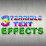 3 terrible text effects – Tipster Friday