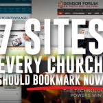 7 websites every church should bookmark now
