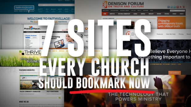 7 church website resources