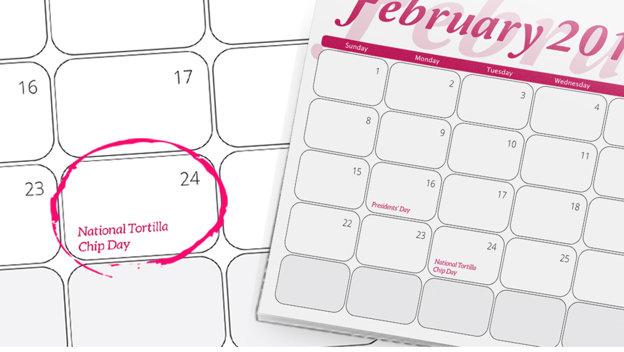 Unusual Calendar Ideas : Unique monthly calendar ideas printplace