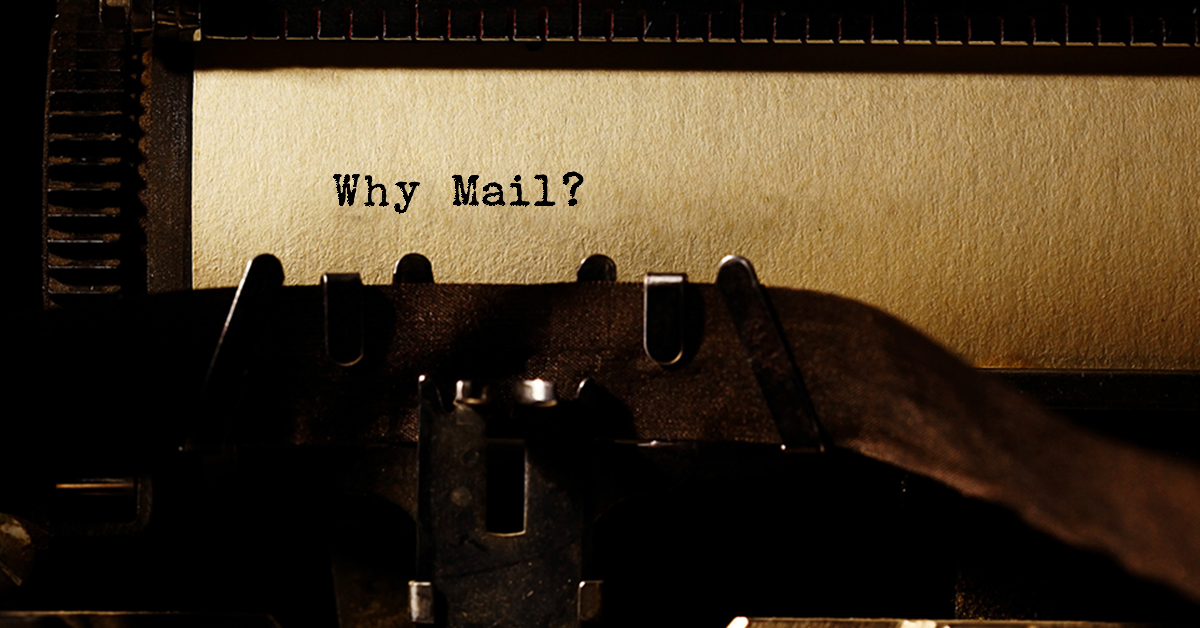Why Mail? Typewriter